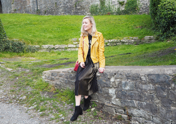 How to add colour to your wardrobe this autumn lifestyle shot
