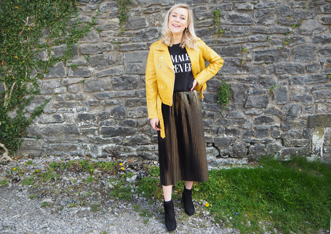 How to add colour to your wardrobe this autumn full look