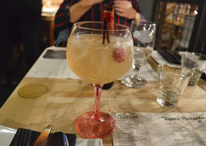 Ambiente Tapas Leeds Review cocktails