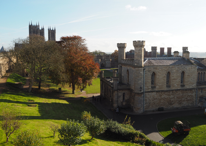 A Day Trippers Guide to Lincoln - view of castle grounds