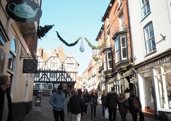 A Day Trippers Guide to Lincoln - cobbled street
