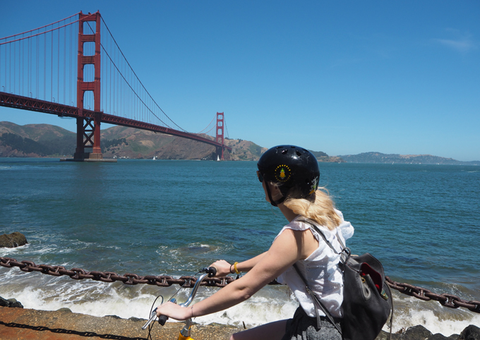 Bucket List Guide to West Coast America San Fransisco bridge