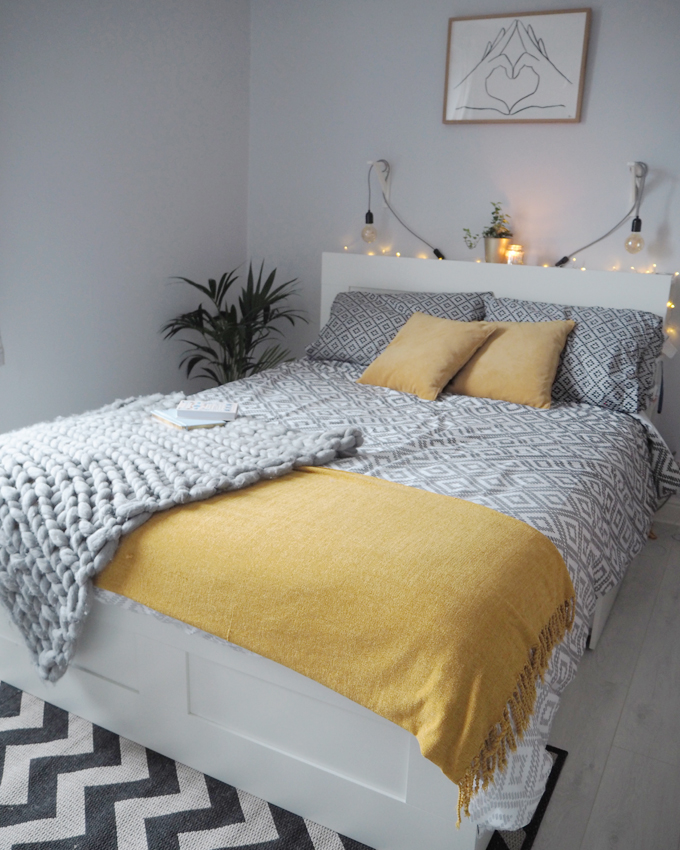 How to refresh your bedroom on a budget - room view