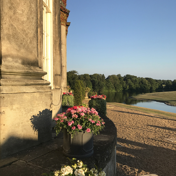 A couples weekend away at Wynyard Hall, Spa & Garden County Durham - view over lake