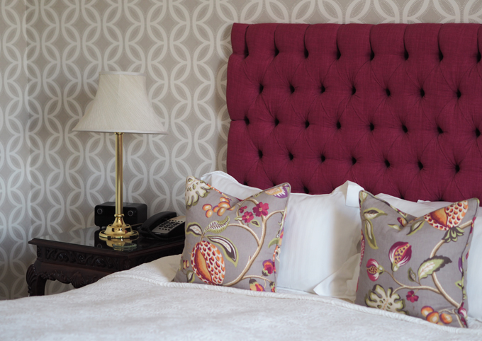 A couples weekend away at Wynyard Hall, Spa & Garden County Durham - Lady Mae room