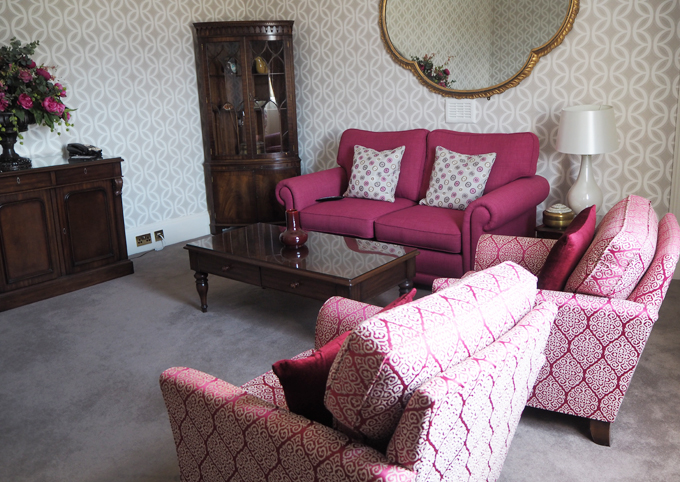 A couples weekend away at Wynyard Hall, Spa & Garden County Durham - Lady mae double executive suite view