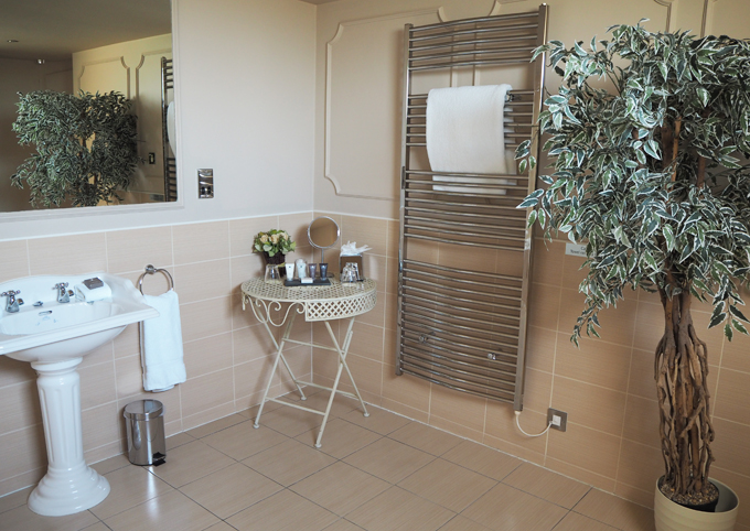 A couples weekend away at Wynyard Hall, Spa & Garden County Durham - executive bathroom suite