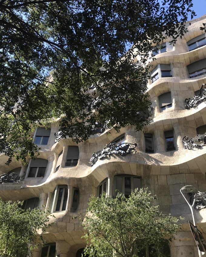 4 places to eat in Barcelona - Casa Mila