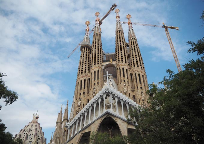 4 places to eat in Barcelona - Sagrada Familia