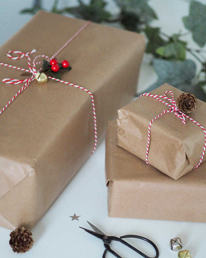 Ways to be more Sustainable this Christmas - recycled paper