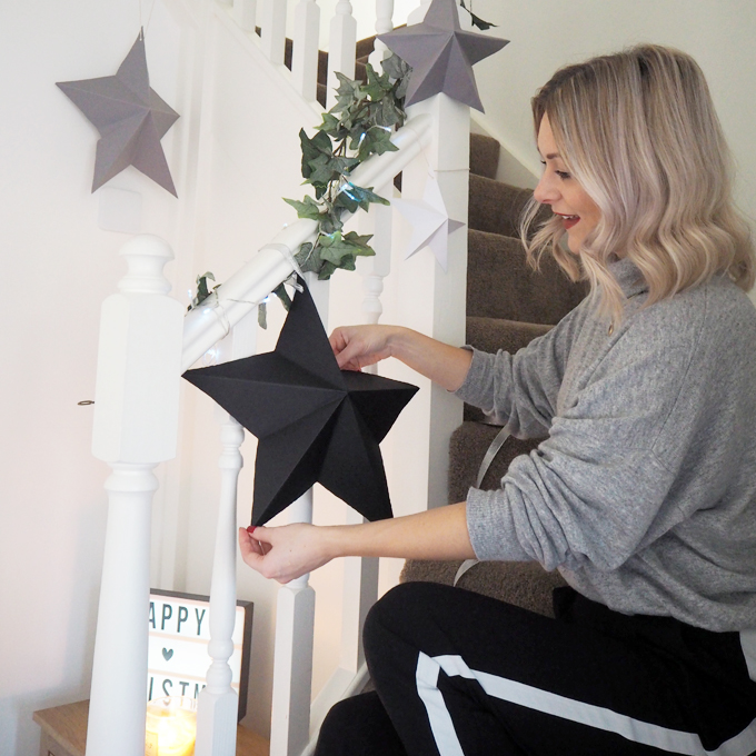 DIY Paper Star Decoration