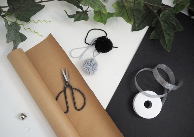Materials | Brown Paper Gift Wrap Ideas | MadeUpStyle